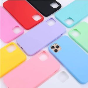 Yellow Silicone iPhone 11 Pro Max Phone Case